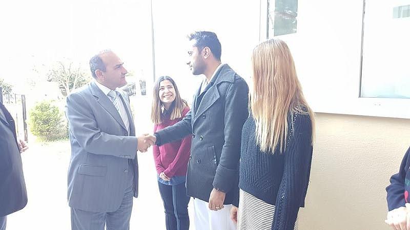 Kaymakamımız Mustafa ERKAYIRAN'ın kurumumuza ziyareti