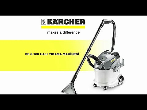 Karcher SE6100 Sessiz Halı Koltuk Yıkama Makinesi